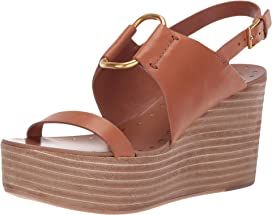 45d7c7952 Tory Burch 80 mm Ines Wedge Slide at Zappos.com