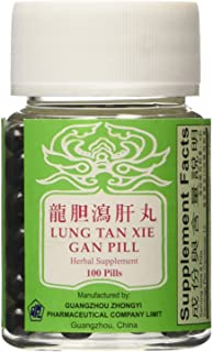 龍膽瀉肝丸 Lung Tan Xie Gan Pill (For Bile System)- Herbal Supplement, 100 Pills