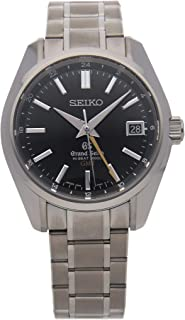 Grand Seiko Grand Seiko Hi-Beat Mechanical (Automatic) Black Dial Unisex-Adult Watch SBGJ013 (Certified Pre-Owned)