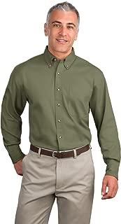 Port Authority Men's Tall Long Sleeve Twill Shirt