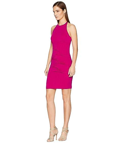 plisado plisado Nicole Halter vestido Miller Pinkberry 7fwWwqzE