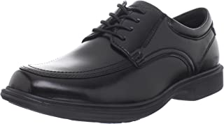 Nunn Bush Men's Bourbon Street Lace Up Oxford with Kore Slip Resistant Technology