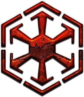 Bargain Max Decals Sith Inspired Emblem Symbol Dark Side Window Laptop Car Sticker 5.5