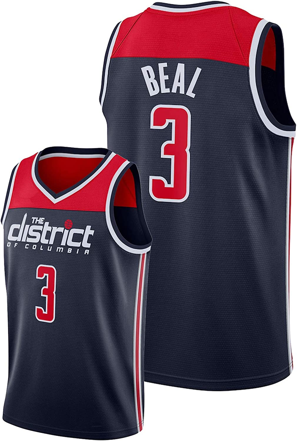 Br dley Be l #3 Mens Basketball Jersey,Wiz rds 2020-21 City ...