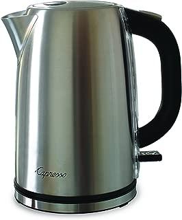 Capresso 277.05 H2O Steel Water Kettle, Silver