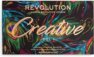 Makeup Revolution Pigment Palette Creative Vol 1