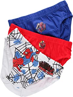 Taglia 6//7 Anni. Marvel 3 Slip Bambino Avengers 100/% Cotone Azzurro e Bianco Hulk Iron Man Capitan America Thor