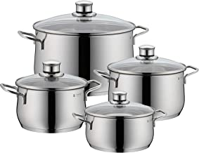 WMF Diadem Plus 4Pc Cookware Set, Stainless Steel, 4kg