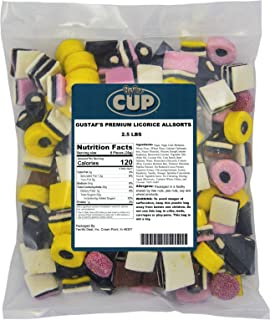 Gustaf's English Licorice Allsorts – 2.5 LB