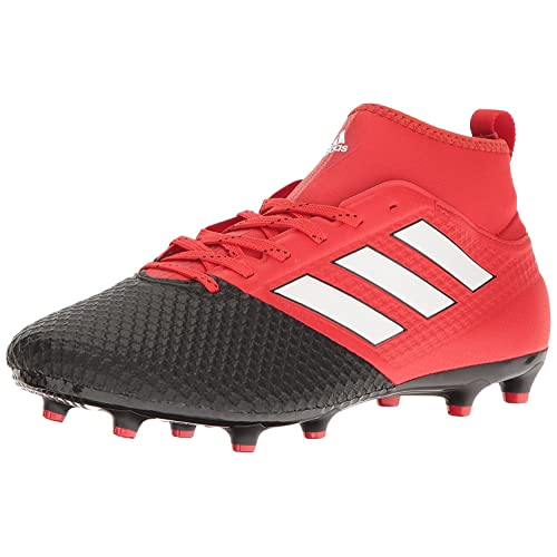 7d726e017e44 adidas Men s ACE 17.3 Primemesh FG Red White Core Black Shoes