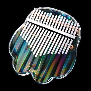 REAWOW Crystal Thumb Piano Kalimba Acrylic Transparent 17 Ke