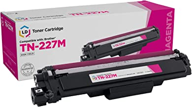 LD Compatible Toner Cartridge Replacement for Brother TN-227M High Yield (Magenta)