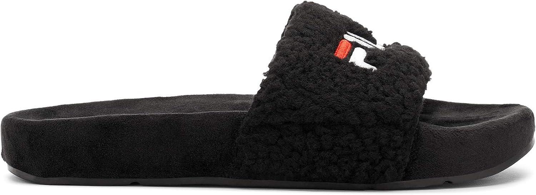 Fila Women's Fuzzy Slide Sandal