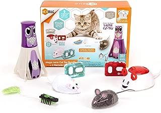HEXBUG Mega Cat Toy Pack, Autonomous and Remote Control Pet Toys