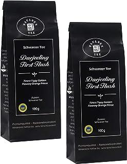 Darjeeling First Flush 2 x 100g 49,75 Euro / kg Paulsen Tee Schwarzer Tee rückstandskontrolliert & zertifiziert