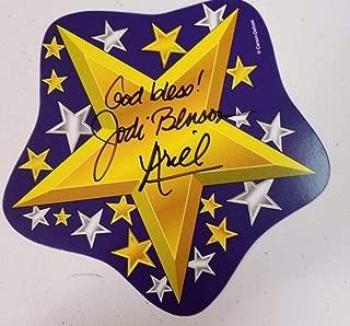 Disney Legend Jodi Benson Hand Signed Card JG Autographs W/COA