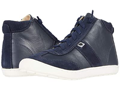 Old Soles Travel High-Top (Toddler/Little Kid) (Navy/Navy Suede) Boy