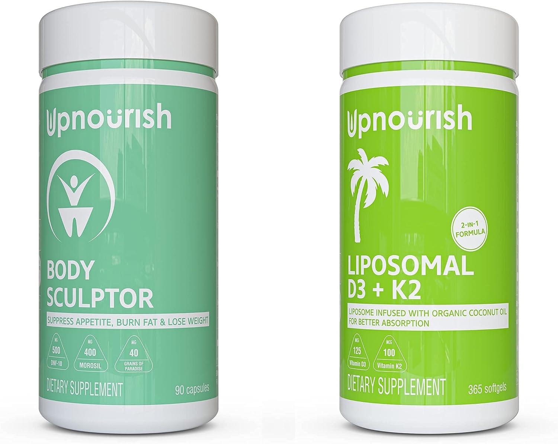 Liposomal Vitamin D3 5000 IU Translated Max 77% OFF K2 MK-7 mcg Supply with 1 Year 100