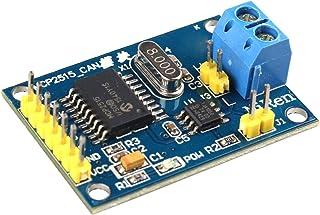 HALJIA Módulo con controlador MCP2515 bus CAN, interfaz SPI y transceptor TJA1050 Compatible con Arduino, Raspberry Pi, 51...