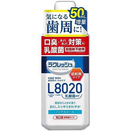 ジェクス ラクレッシュ L8020 乳酸菌 マウスウォッシュ (マイルド) リキッド 450ml+50ml増量 アップルミント風味