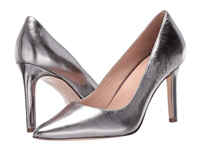 Naturalizer 27 Edit Alanna (Pewter Metallic Shiny Leather) High Heels