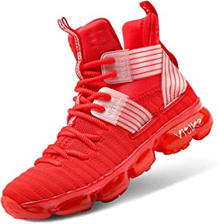 Kid's Basketball Shoes High-Top Sneakers Outdoor Trainers...