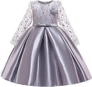 Surprise S Children's Princess Girl's Wedding Dress Lace Embroidery Elegant Evening Dress Flower Birthday Party