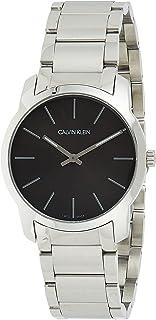 Calvin Klein Unisex-Adult Quartz Watch, Analog Display and Stainless Steel Strap K2G22143