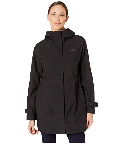 The North Face City Breeze Rain Trench (TNF Black) Women