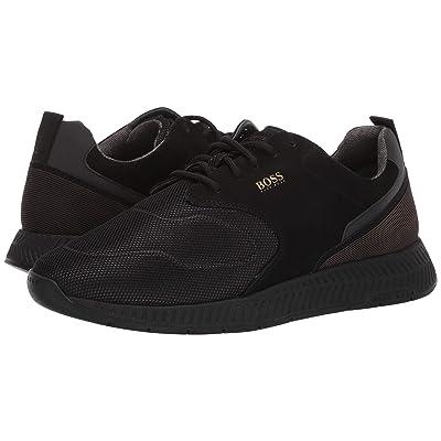 BOSS Hugo Boss Titanium Run Sneaker By BOSS (Black) Men