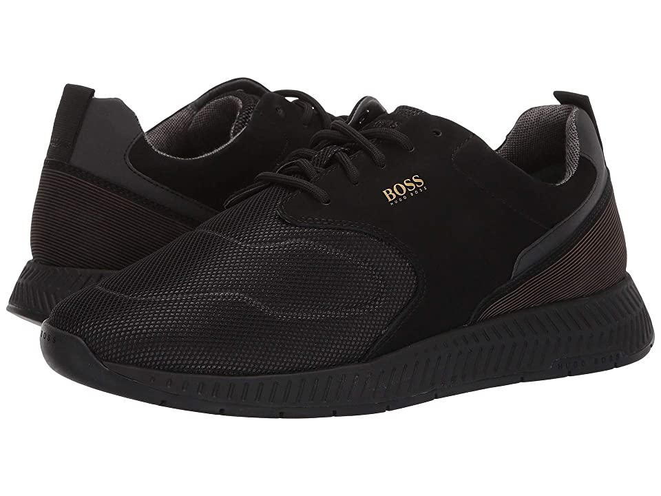 BOSS Hugo Boss Titanium Run Sneaker By BOSS (Black) Men