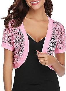 Pink bolero Bridesmaid shrug mohair Wedding Bolero Bridal Shrug Bridesmaid Cover up  sweater evening jacket bolero Knit short sleeve shrug