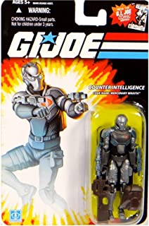 Mercenary Wraith GI Joe Action Figure