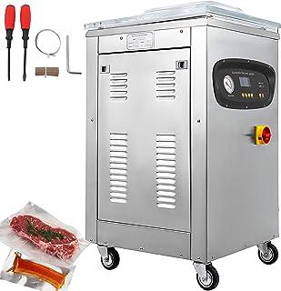 VEVOR Machine d'Emballage sous Vide Industriel 1000W Appareil de Mise sous Vide Alimentaire Thermique en Acier Inoxydable ...