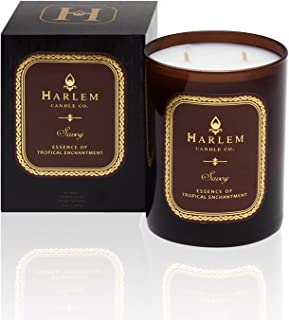 Harlem Candle Company Savoy Luxury Candle, Large 12 oz Jar Candle, Double Wick,