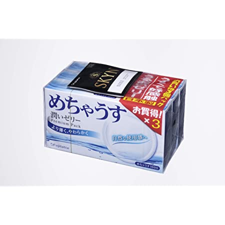 めちゃうす 1000 1箱12コ入×3パック 【SKYN お試しサンプル付】
