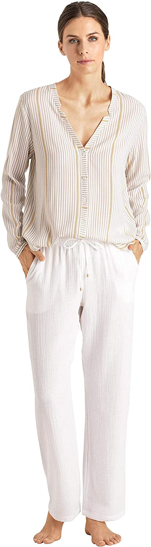HANRO Women's Sleep and Lounge Long Pant