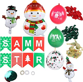 Party Supplies, Non-toxic Christmas Decoration, Practical Hanging for Festival Gift Decoration School Party