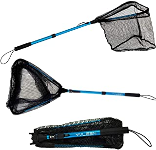 Folding Fishing Net - Yvleen Foldable Fish Landing Net...