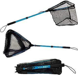 Folding Fishing Net - Yvleen Foldable Fish Landing Net...