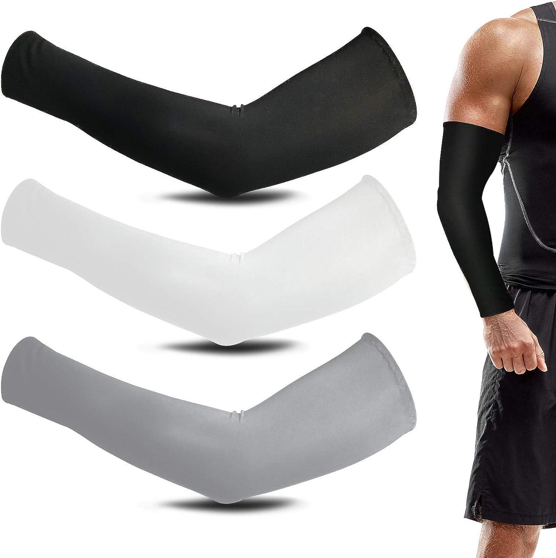 Mangas del Brazo Hombre Mangas de Protección UV para Conducir Ciclismo Baloncesto para Ciclismo, Golf, BéIsbol, Baloncesto, Deportes, Tatuaje, Mangas de CompresióN para Brazos