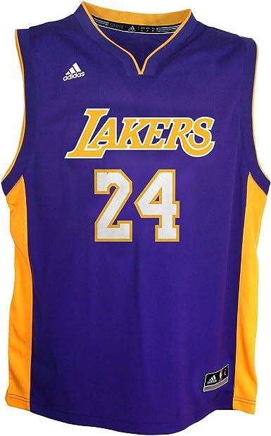 Amazon.com: NBA Los Angeles Lakers Toddler Away Replica Jersey ...