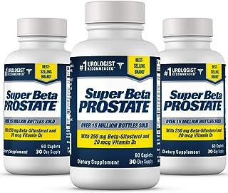 Super Beta Prostate Supplement for Men - Reduce Bathroom Trips Day & Night, Over 15 Million Bottles Sold - Promote Sleep, ...