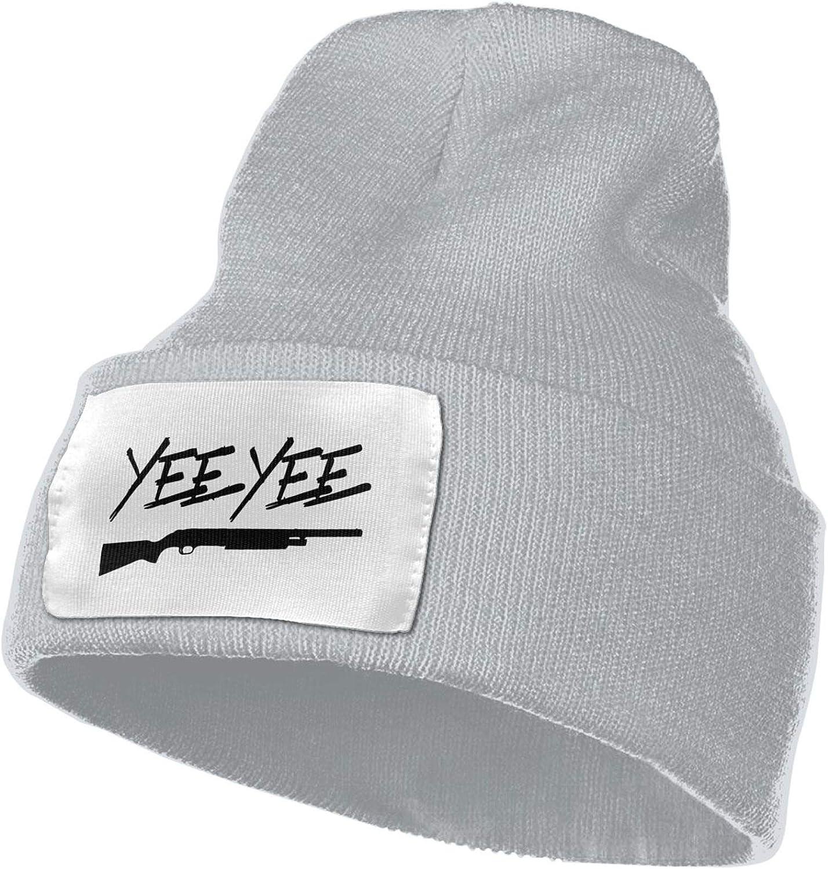 jiangshi Yee Black Yee Unisex Beanie Knit Hat Soft Warm Winter Skull Cap