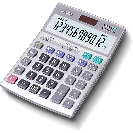 カシオ 本格実務電卓 12桁 検算機能 グリーン購入法適合 デスクタイプ DS-20WK-N
