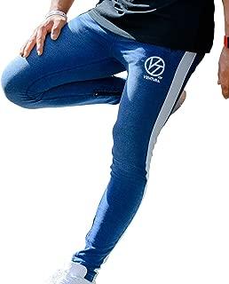 VENTURA ジョガーパンツ トレーニング ジム フィットネス ラインパンツ アスレジャー