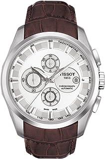 ساعة تيسوت T035.627.16.031.00 للرجال رقمية جلد