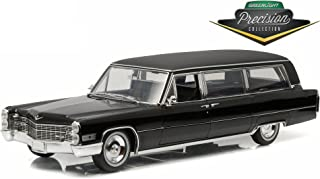 Cadillac 1966 S&S Limousine Black Precision Collection Limited Edition 1/18 by Greenlight 18002
