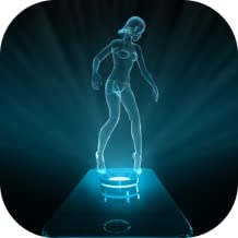Hologram Girl Projector