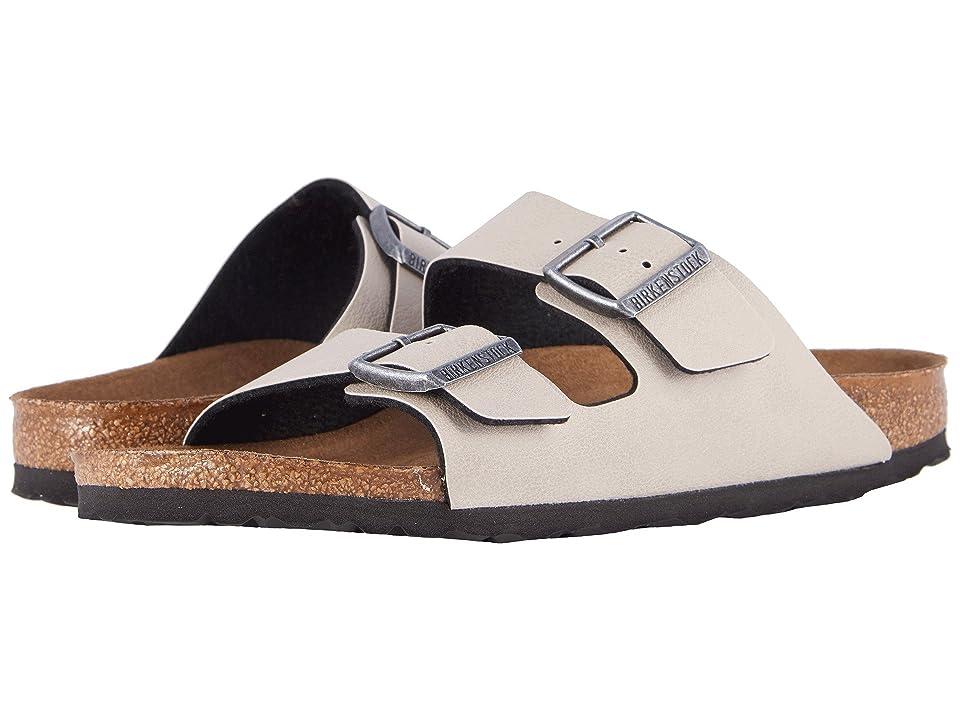 Birkenstock Arizona Vegan (Stone Pull Up) Sandals